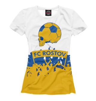 Футболка женская ФК Ростов (8673)