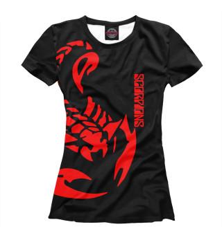 Футболка женская Scorpions (9176)