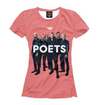Футболка женская Poets Of The Fall (2141)