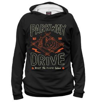 Худи женское Parkway Drive (5028)
