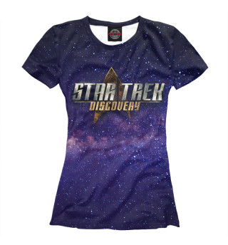 Футболка женская Star Trek: Discovery (2613)