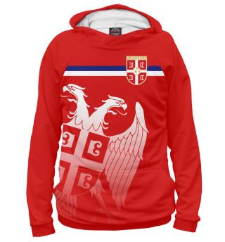 Худи женское Сербия