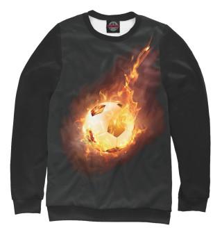 Одежда с принтом Огненный мяч