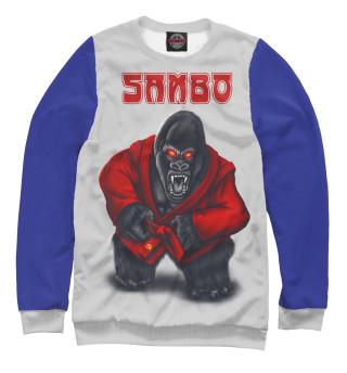 Одежда с принтом SAMBO СССР