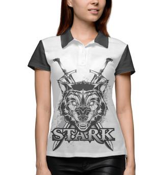 Поло женское Game of Thrones Stark