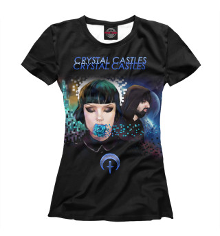 Футболка женская Crystal Castles (6154)