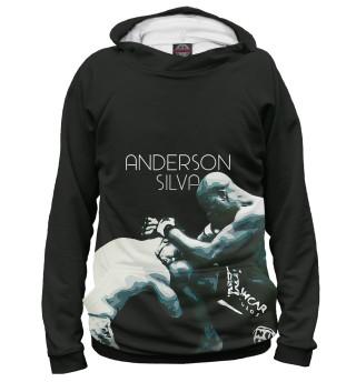 Худи женское Anderson Silva - Knee Kick