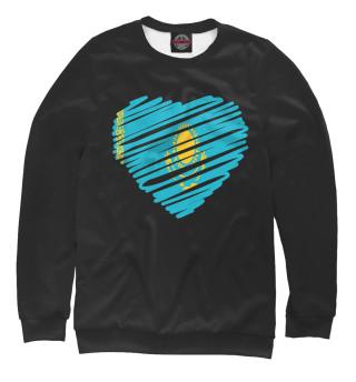 Одежда с принтом Сердце Казахстана