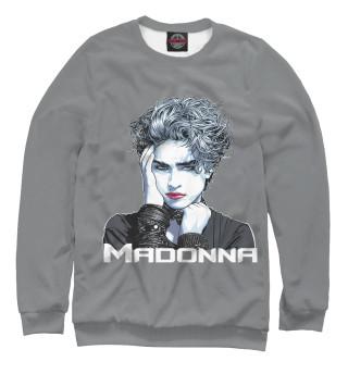 Одежда с принтом Мадонна