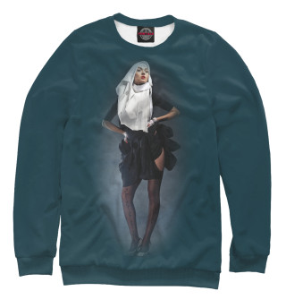 Одежда с принтом Монашка (870223)