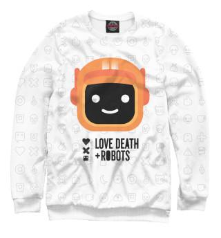 Одежда с принтом Любовь, смерть и роботы (400070)