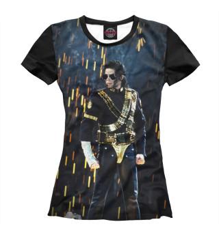 Футболка женская Michael Jackson