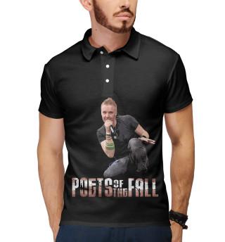 Поло мужское Poets of the Fall (2077)