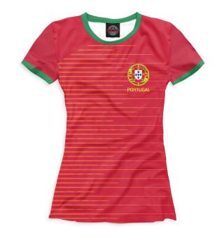 Футболка женская Сборная Португалии