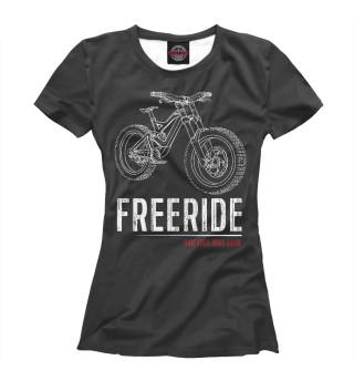 Футболка женская FreeRide
