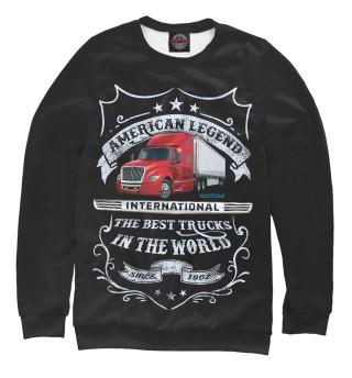 Одежда с принтом INTERNATIONAL - Американская легенда