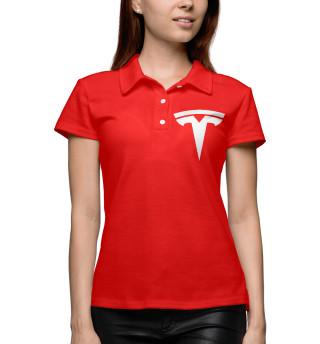 Поло женское Tesla (5821)