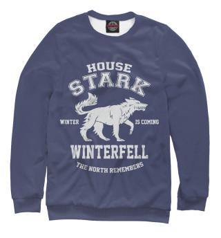 Одежда с принтом Winterfell