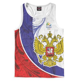 Майка борцовка мужская Олимпиада Рио-2016 (4566)