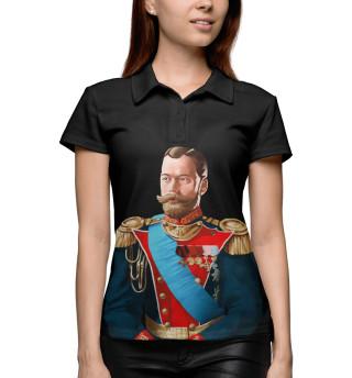 Поло женское Николай II