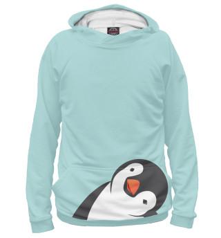 Худи женское Пингвинчик (5226)
