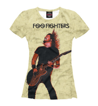 Футболка женская Foo Fighters - Dave Grohl