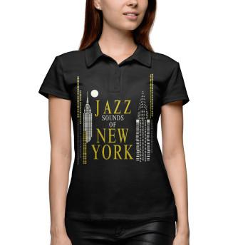Поло женское Jazz New-York