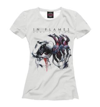 Футболка женская In Flames (4034)