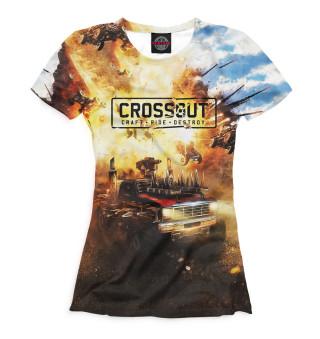Футболка женская Crossout (3627)