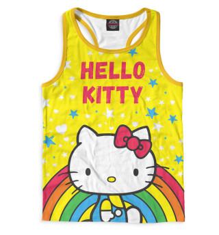 Майка борцовка мужская Hello Kitty (8196)
