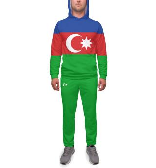 Спортивный костюм  мужской Азербайджан