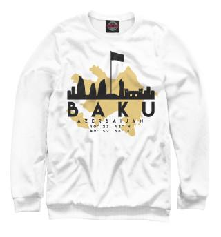 Одежда с принтом Баку (Азербайджан)