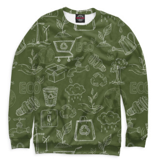 Одежда с принтом Ecology