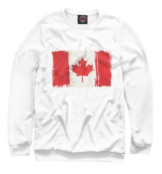 Одежда с принтом Канада