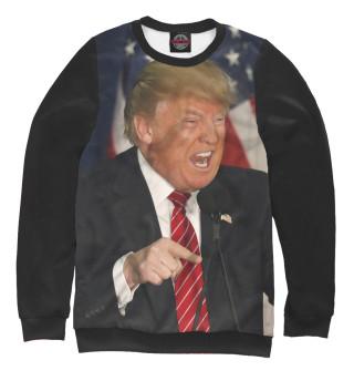 Одежда с принтом Трамп (730463)