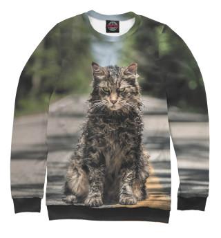 Одежда с принтом Dead Cat