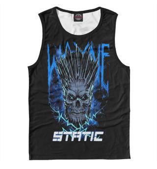 Майка мужская Static-X