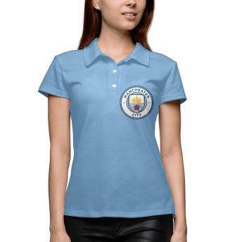 Поло женское Манчестер Сити (7070)