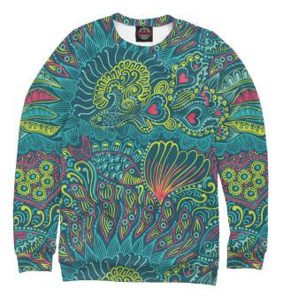 Одежда с принтом Рыбы и сердца