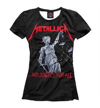 Футболка женская Metallica (6468)