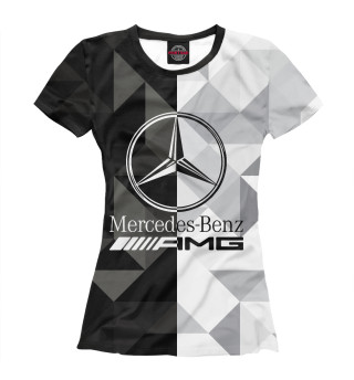 Футболка женская Mercedes-Benz Diamond