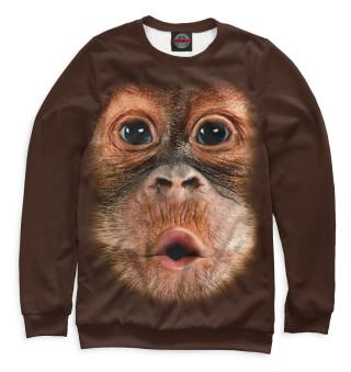 Одежда с принтом Орангутанг
