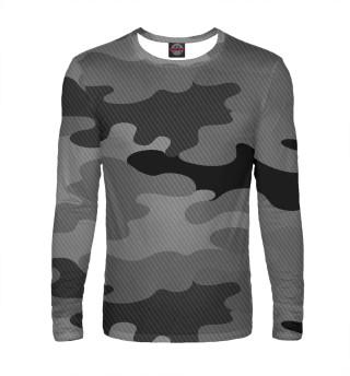 Лонгслив  мужской camouflage gray