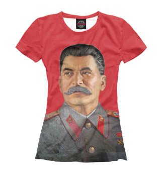 Футболка женская Иосиф Сталин
