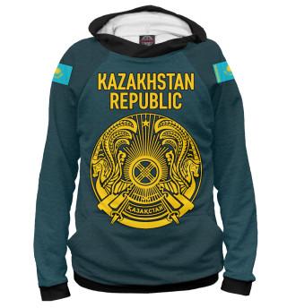 Худи женское Kazakhstan Republic