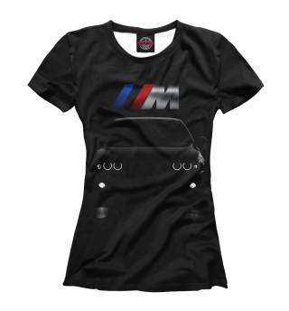 Футболка женская BMW M