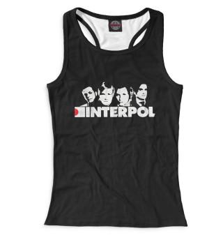 Майка борцовка женская Interpol (7134)