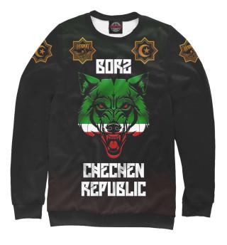 Одежда с принтом Borz Akhmat Fight Club