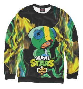 Одежда с принтом Brawl Stars LEON (493513)