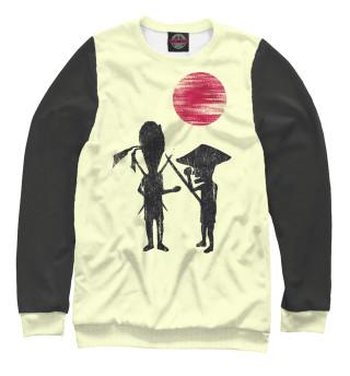 Одежда с принтом Samurai Punks